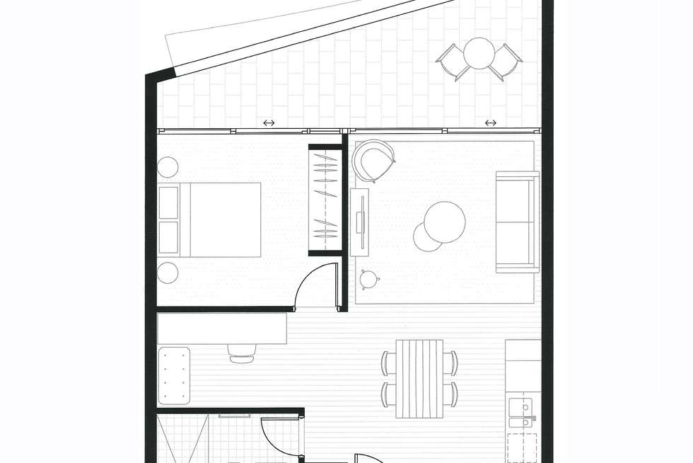 Floorplan of Homely apartment listing, 202/226 Victoria Street, Potts Point NSW 2011