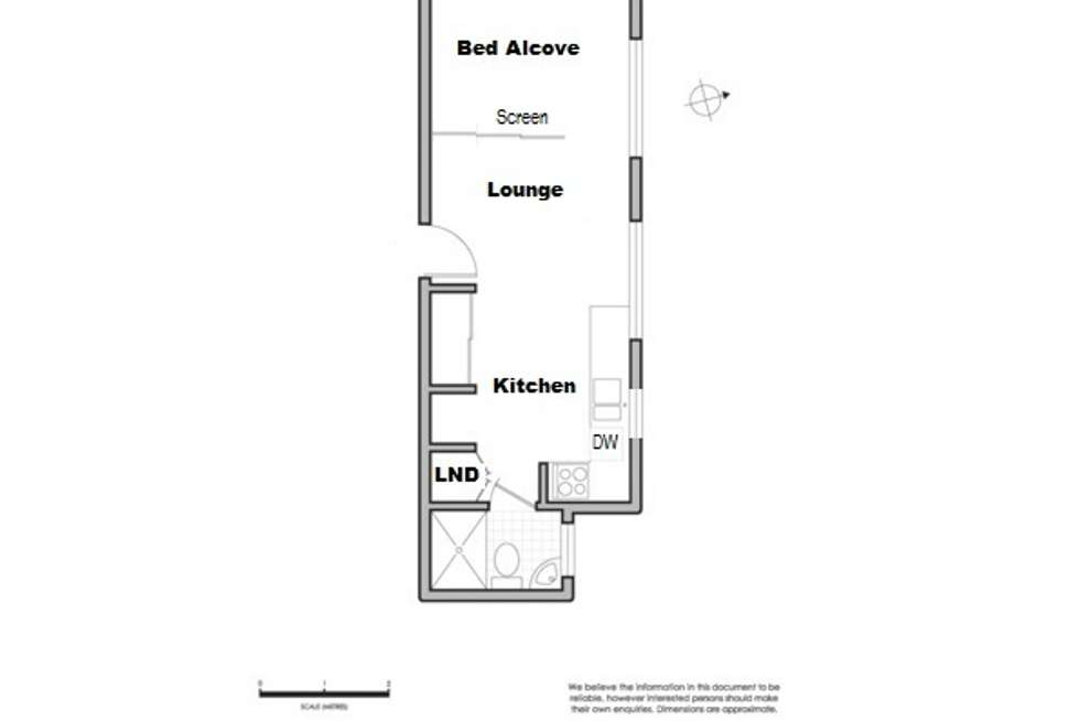 Floorplan of Homely studio listing, 8/165-167 Victoria Street, Potts Point NSW 2011