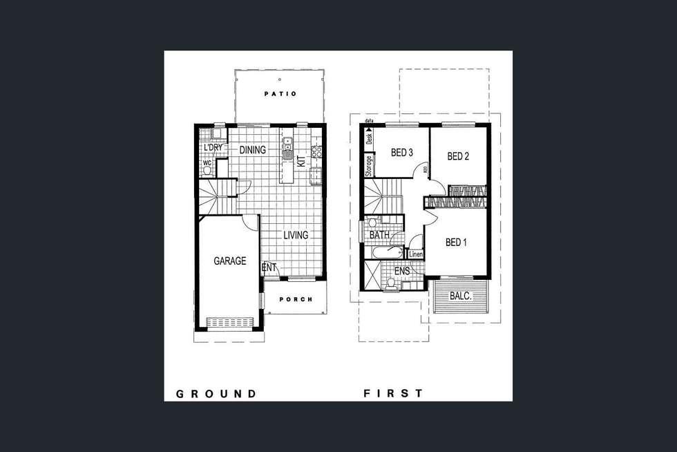 Floorplan of Homely townhouse listing, 5/12 KIMBERLEY CLOSE, Redbank Plains QLD 4301