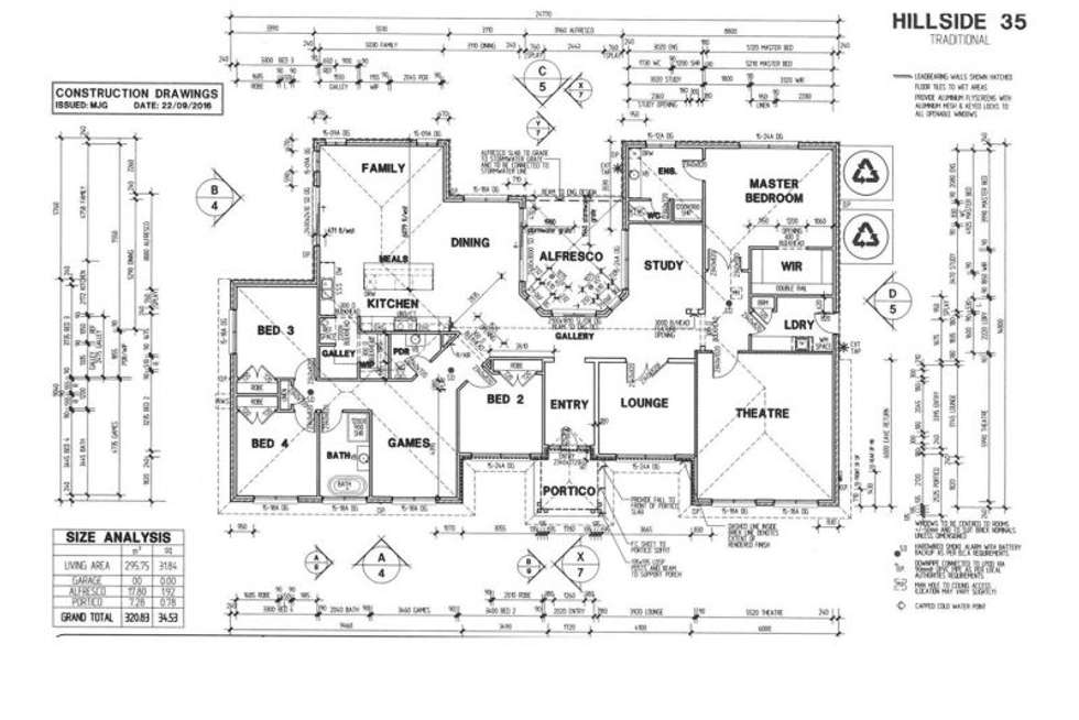 Floorplan of Homely house listing, 110 Minns Road, Little River VIC 3211