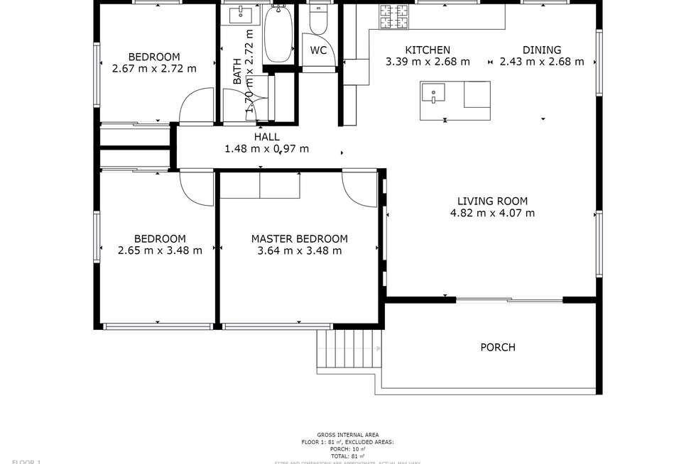Floorplan of Homely house listing, 25 David Road, Holland Park QLD 4121