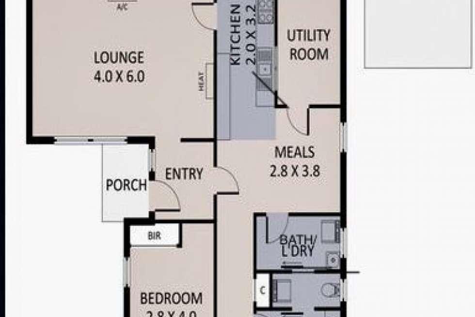 Floorplan of Homely house listing, 22 Bennett St, Sunshine West VIC 3020