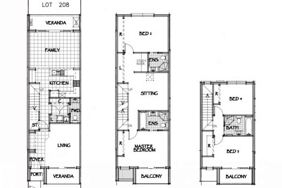 Floorplan of Homely terrace listing, 61 Fernandez Lane, Penrith NSW 2750