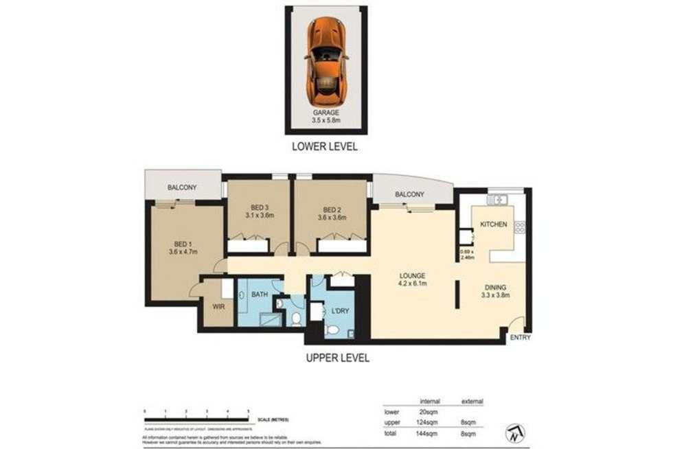 Floorplan of Homely apartment listing, 17/26 Brisbane Street, Toowong QLD 4066