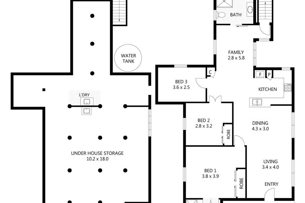 Floorplan of Homely house listing, 85 Stagpole Street, West End QLD 4810