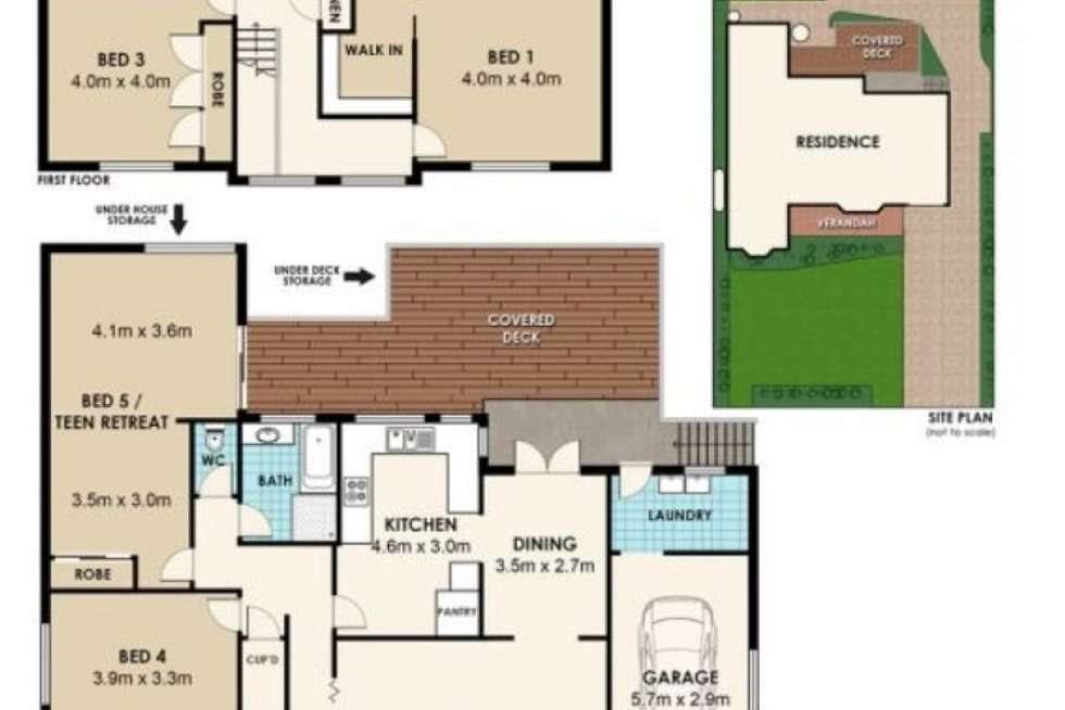 Floorplan of Homely house listing, 11 Harley Crescent, Eastwood NSW 2122