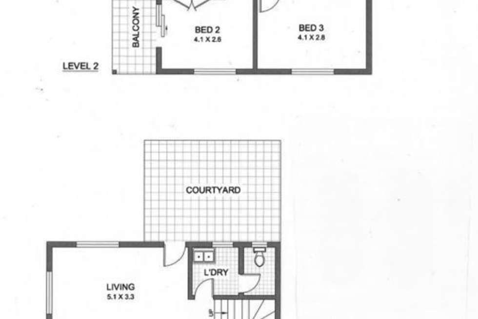Floorplan of Homely townhouse listing, 1/59 Queen Street, North Strathfield NSW 2137