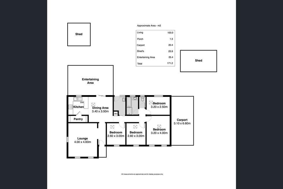 Floorplan of Homely house listing, 6 Kingsbridge Drive, Morphett Vale SA 5162
