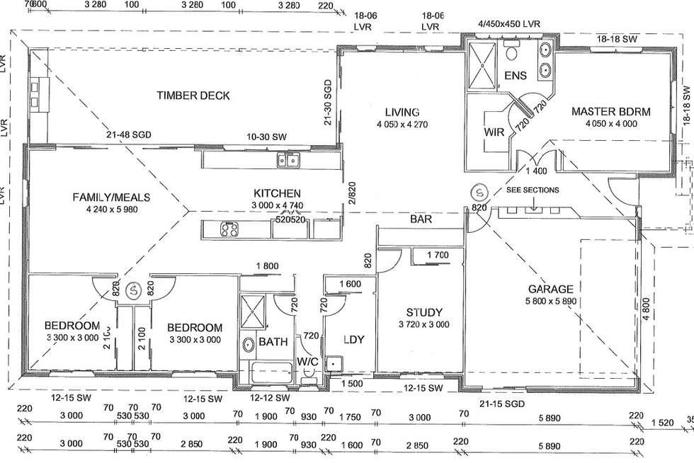 Floorplan of Homely house listing, 18 Sakarben Street, Eight Mile Plains QLD 4113