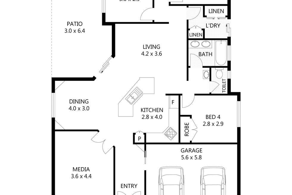 Floorplan of Homely house listing, 7 Anchorage Circuit, Bushland Beach QLD 4818