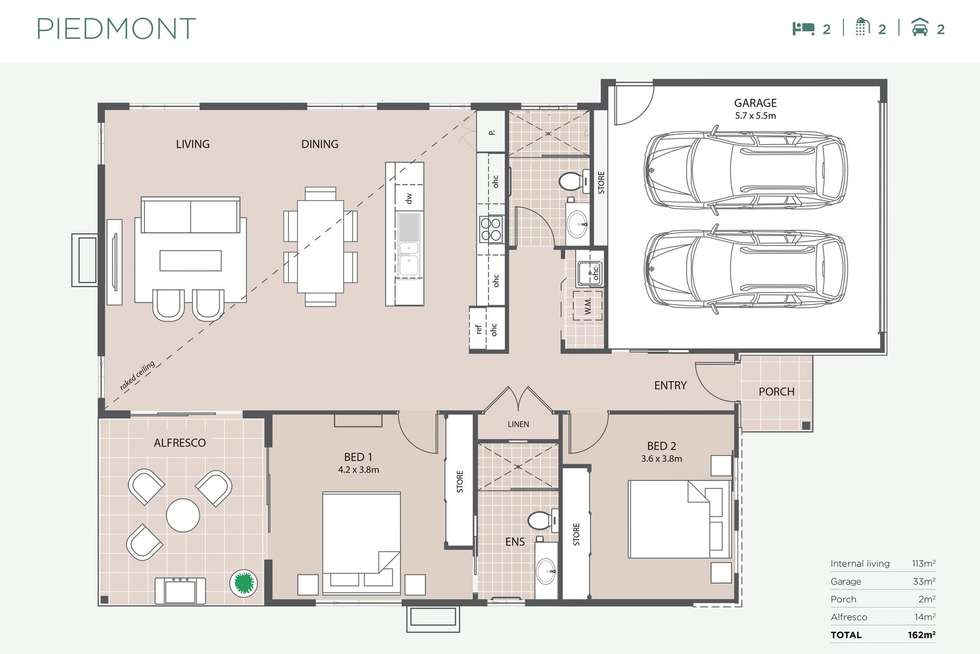 Floorplan of Homely retirement listing, 18/49 Creek Road, Burpengary East QLD 4505