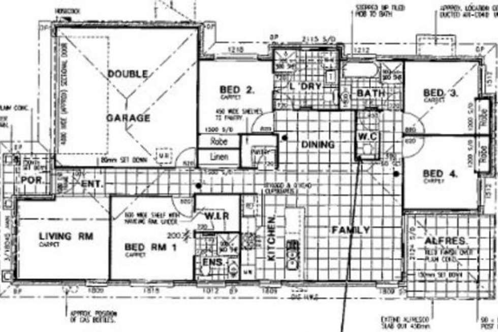 Floorplan of Homely house listing, 47 Frame St, Chinchilla QLD 4413