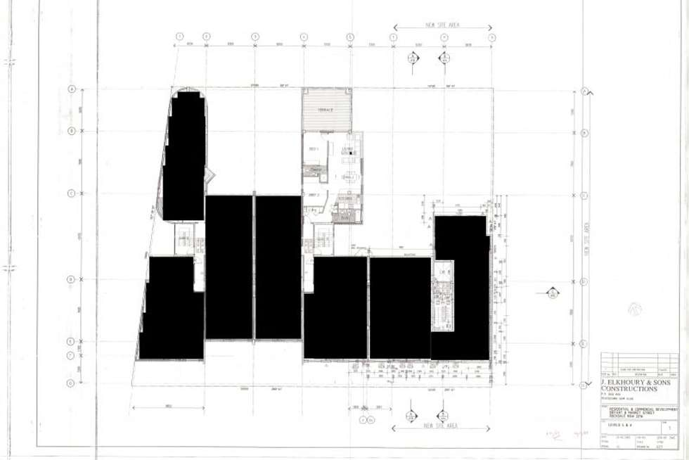 Floorplan of Homely apartment listing, 25/13-19 Bryant Street, Rockdale NSW 2216