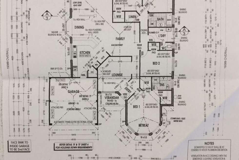Floorplan of Homely house listing, 10 Properjohn Drive, Rockingham WA 6168