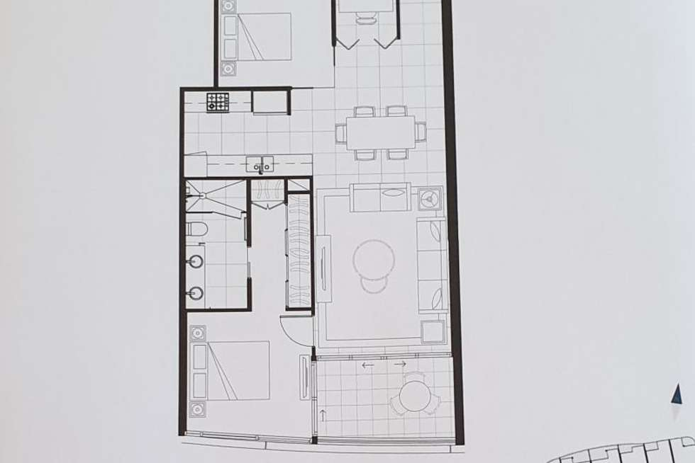 Floorplan of Homely unit listing, 51310/5 Harbourside Court, Biggera Waters QLD 4216