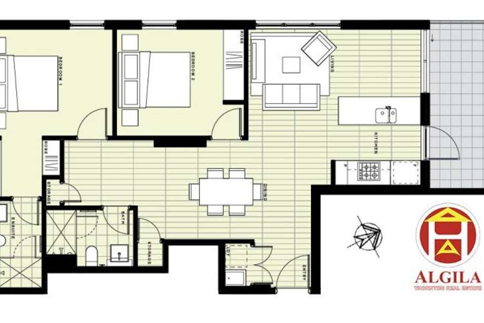 Floorplan of Homely apartment listing, 1-39 Lord Sheffield Circuit, Penrith NSW 2750
