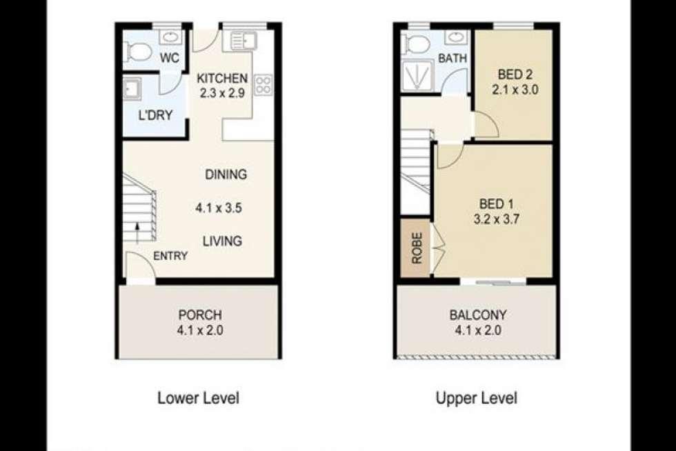 Floorplan of Homely unit listing, 10/90A Milne Street, Mount Warren Park QLD 4207