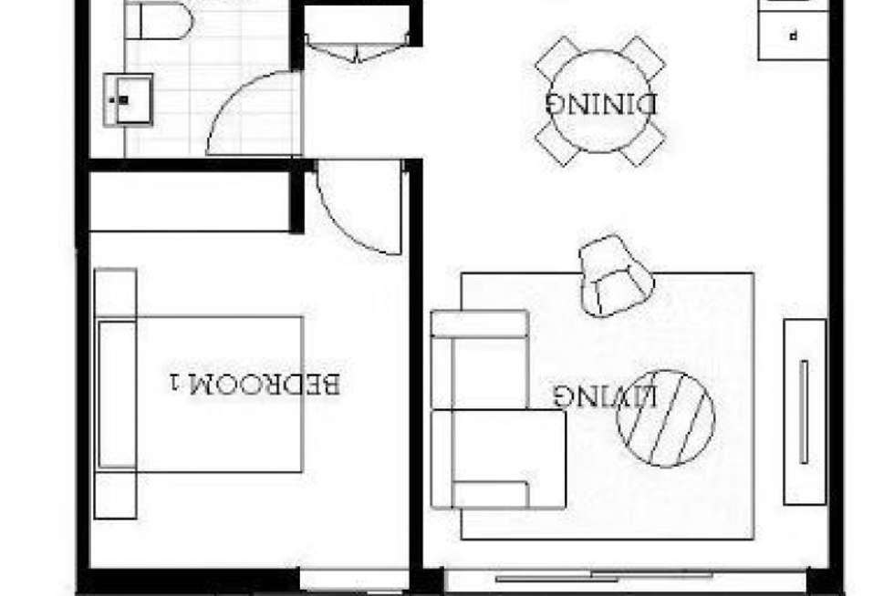 Floorplan of Homely apartment listing, 603/101 Lord Sheffield Circuit, Penrith NSW 2750