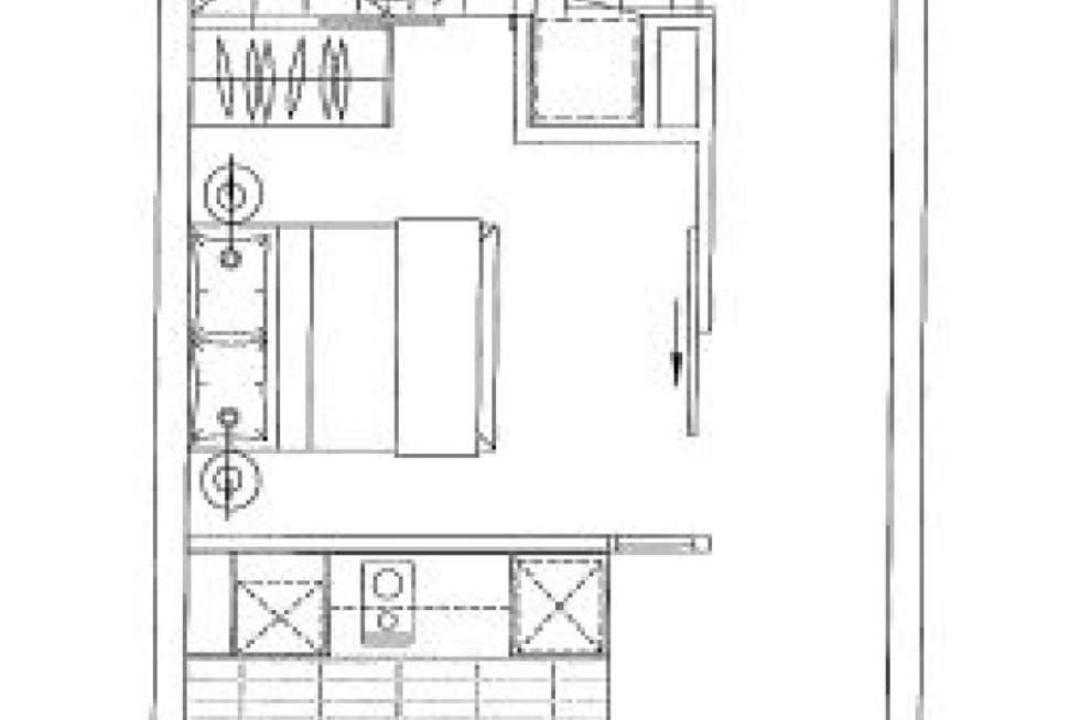Floorplan of Homely apartment listing, 503/199 William Street, Melbourne VIC 3000