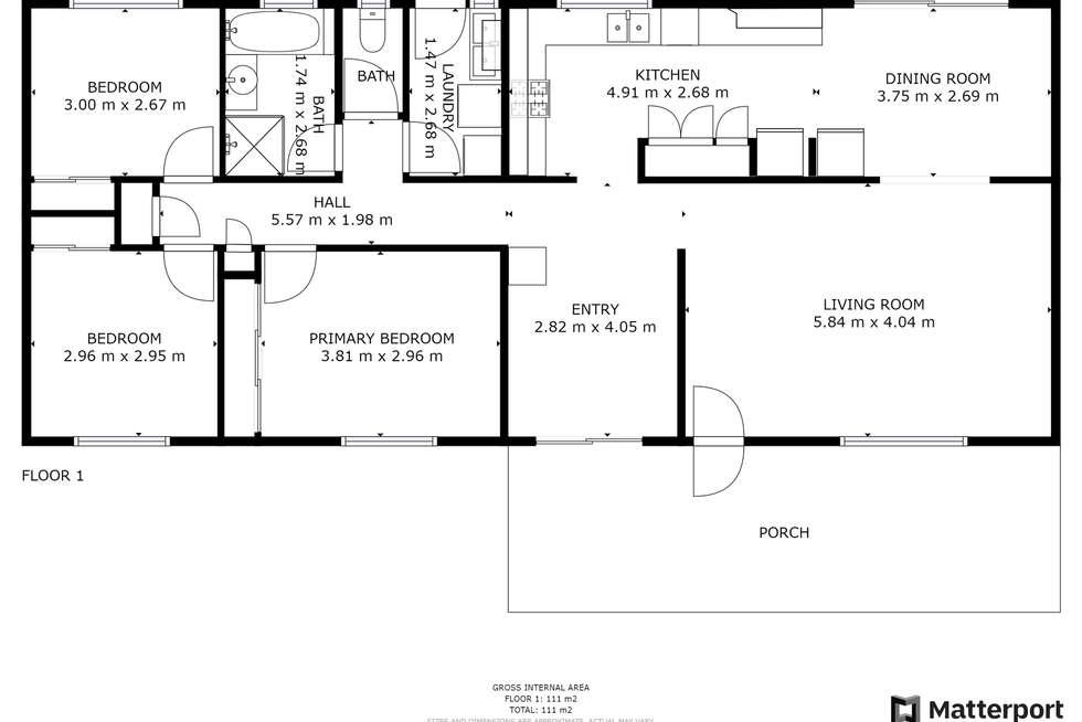 Floorplan of Homely house listing, 10 Falstaff Street, Belmont QLD 4153