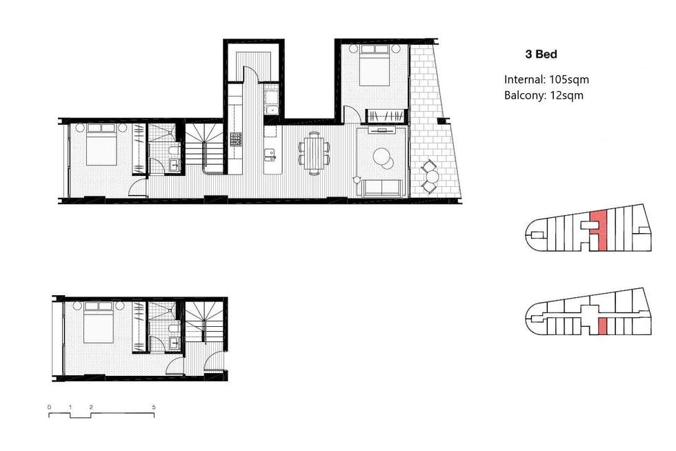 Floorplan of Homely apartment listing, 909/226 Victoria Street, Potts Point NSW 2011
