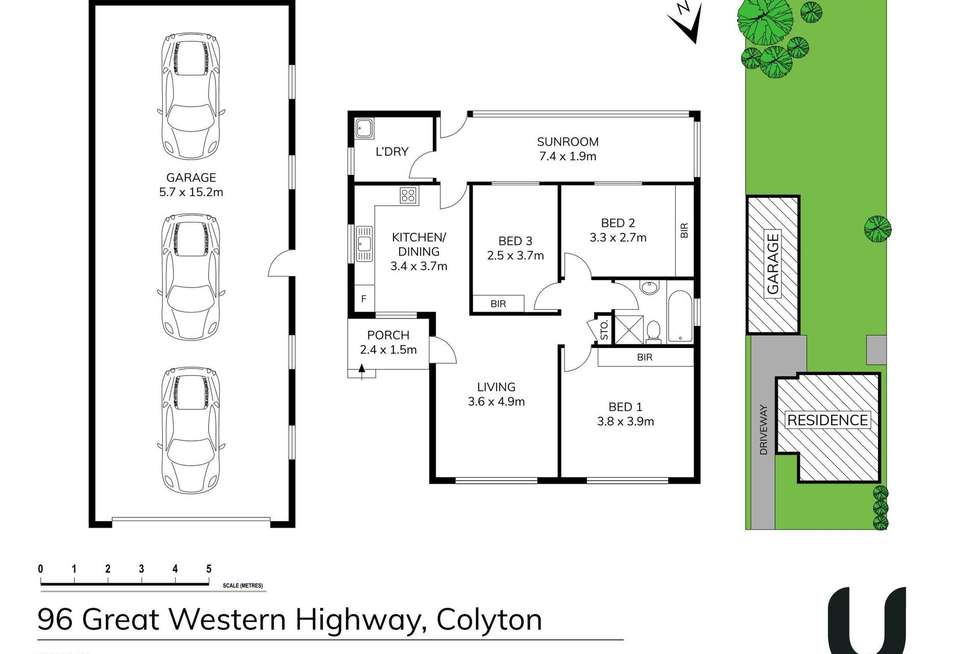 Floorplan of Homely house listing, 96 Great Western Highway, Colyton NSW 2760