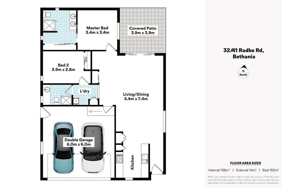 Floorplan of Homely retirement listing, 32/41 Radke Road, Bethania QLD 4205
