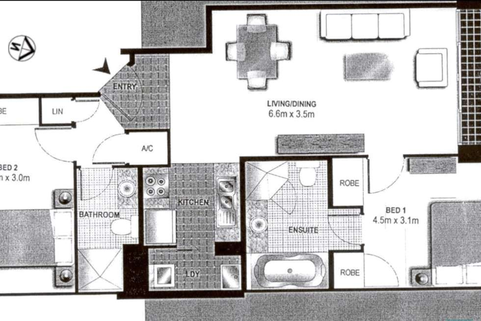 Floorplan of Homely apartment listing, 19/1 Brown Street, Ashfield NSW 2131