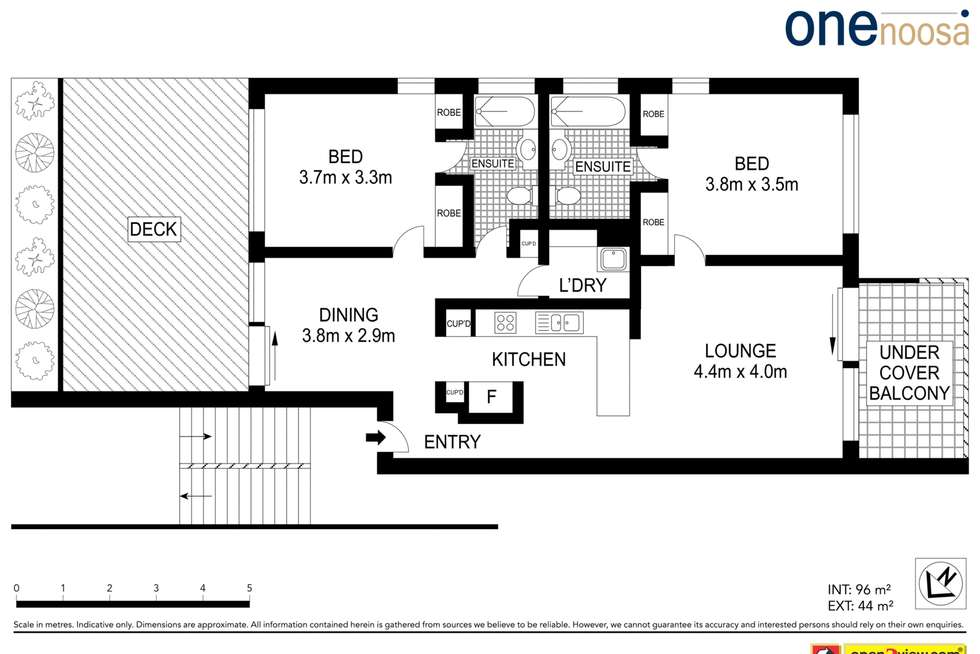 Floorplan of Homely apartment listing, Unit 804/100 Resort Dr, Noosa Springs QLD 4567