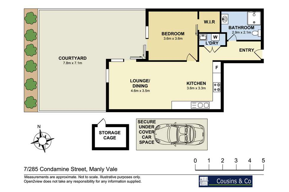 Floorplan of Homely apartment listing, 7/285-287 Condamine Street, Manly Vale NSW 2093