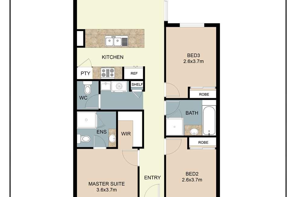 Floorplan of Homely house listing, 365 Lambeth Circle, Wellard WA 6170