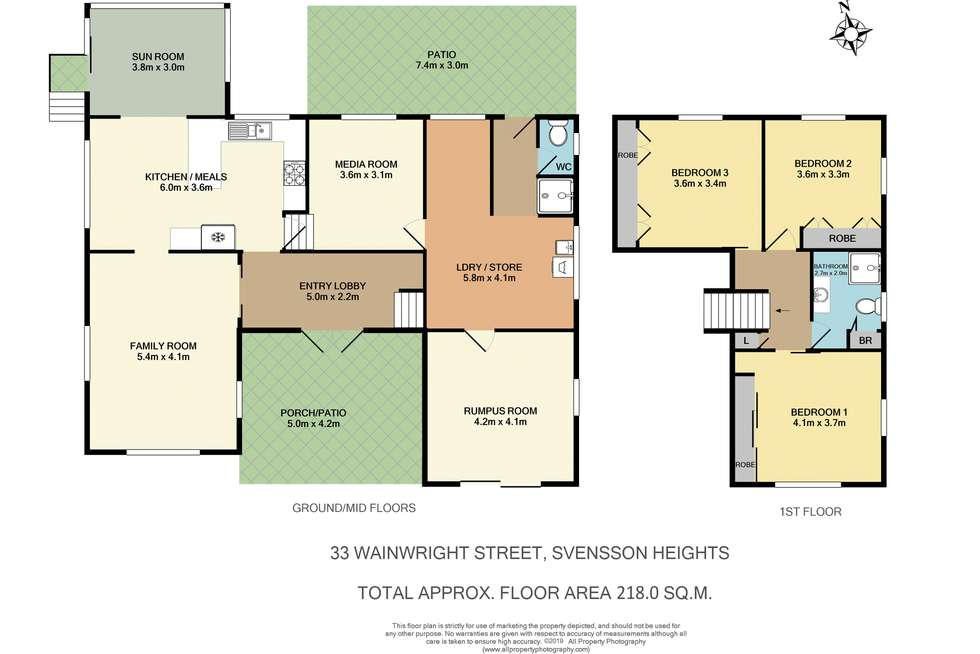 Floorplan of Homely house listing, 33 Wainwright St, Svensson Heights QLD 4670