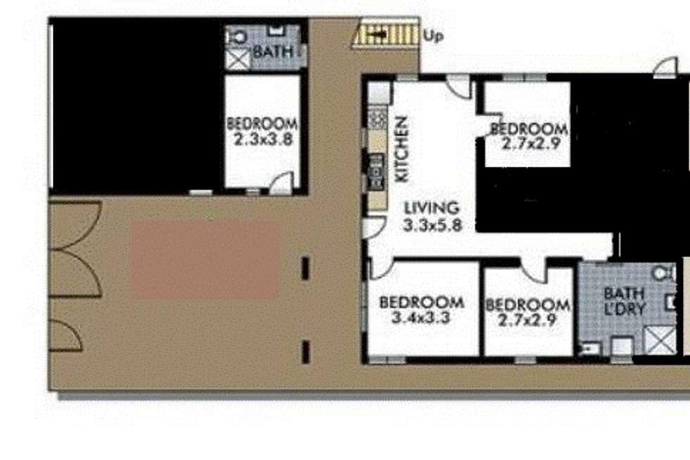 Floorplan of Homely unit listing, Unit 3/221 Birrell Street, Bronte NSW 2024