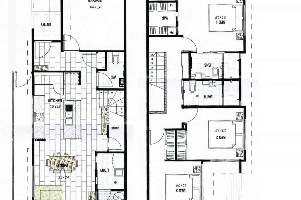 Floorplan of Homely townhouse listing, Unit 8/19 Riviera Pl, Mountain Creek QLD 4557