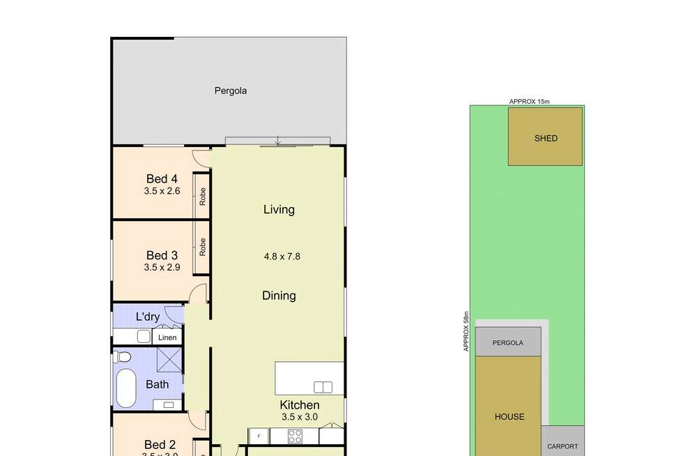 Floorplan of Homely house listing, 18 Redrose Ave, Belmont NSW 2280