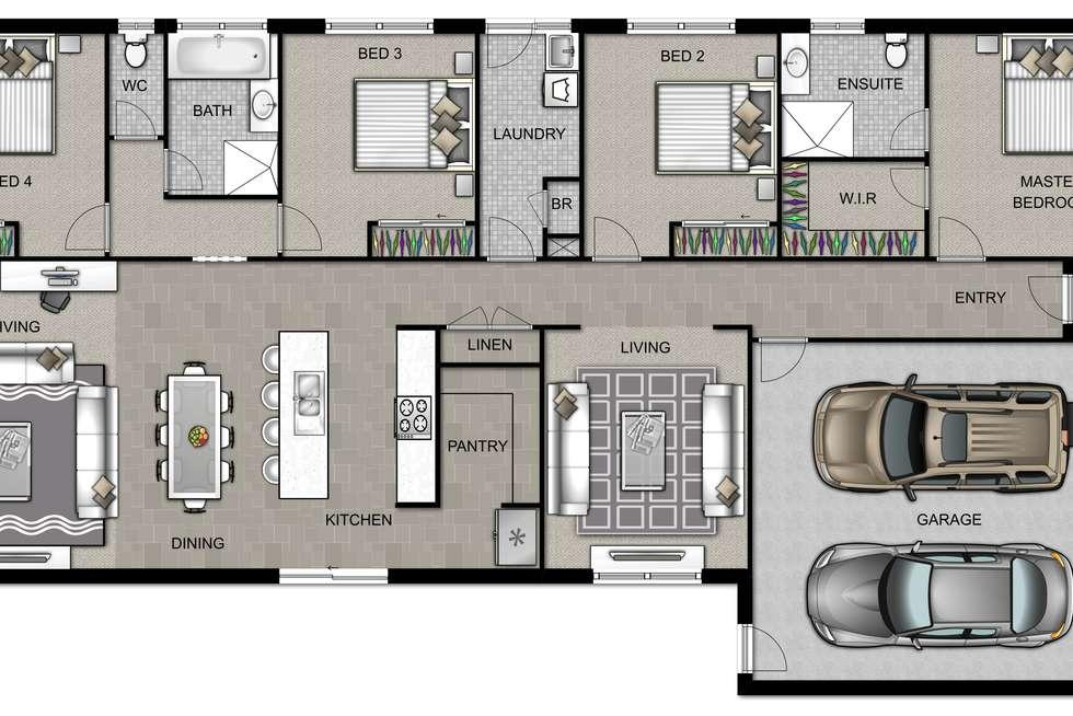 Floorplan of Homely house listing, Lot 215 Dalmatian Street (Sapphire Estate), Cranbourne East VIC 3977