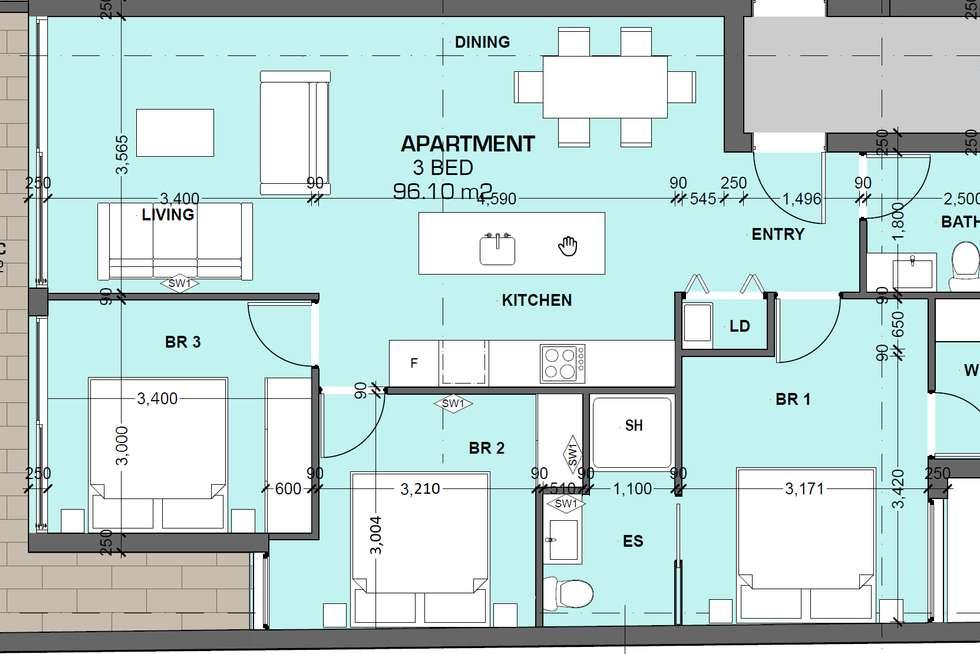 Floorplan of Homely apartment listing, 184 Bay Street, Brighton VIC 3186
