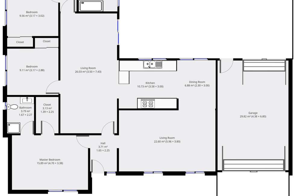 Floorplan of Homely house listing, 14 Zambesi St, Riverhills QLD 4074