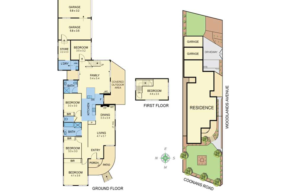 Floorplan of Homely house listing, 40 Coonans Rd, Pascoe Vale South VIC 3044