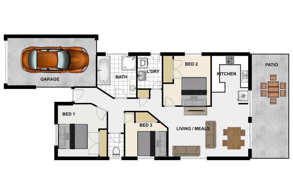 Floorplan of Homely house listing, 10 McKenzie Place, Forest Lake QLD 4078