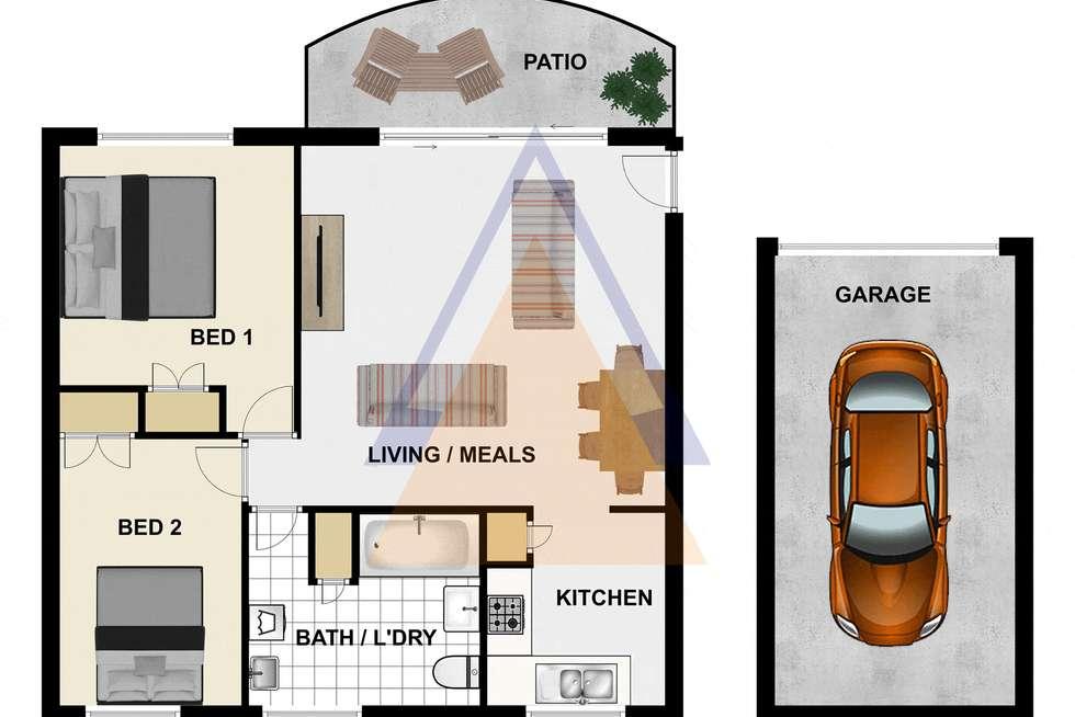 Floorplan of Homely unit listing, Unit 5/17 North Rd, Woodridge QLD 4114