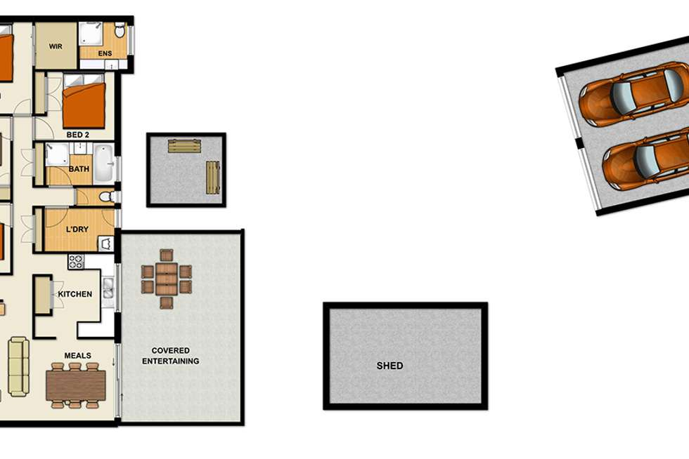 Floorplan of Homely house listing, 2 Ripley Road, South Ripley QLD 4306