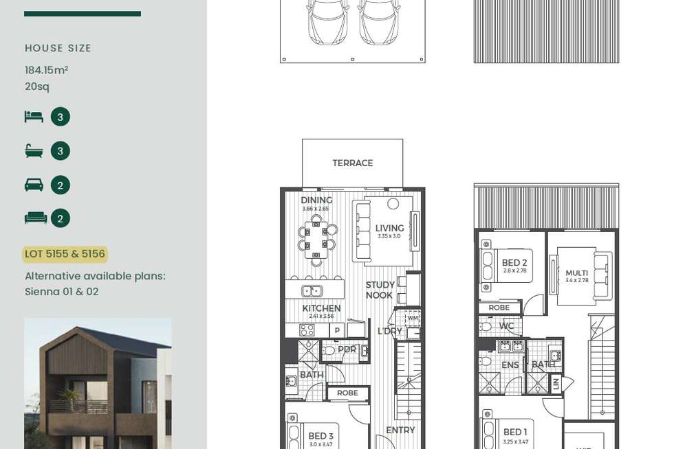 Floorplan of Homely townhouse listing, Lot 5155 Antares Loop, Epping VIC 3076