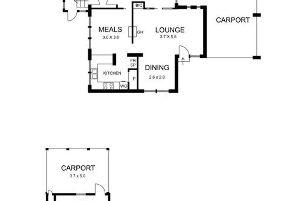 Floorplan of Homely house listing, 15 English Street, Macedon VIC 3440