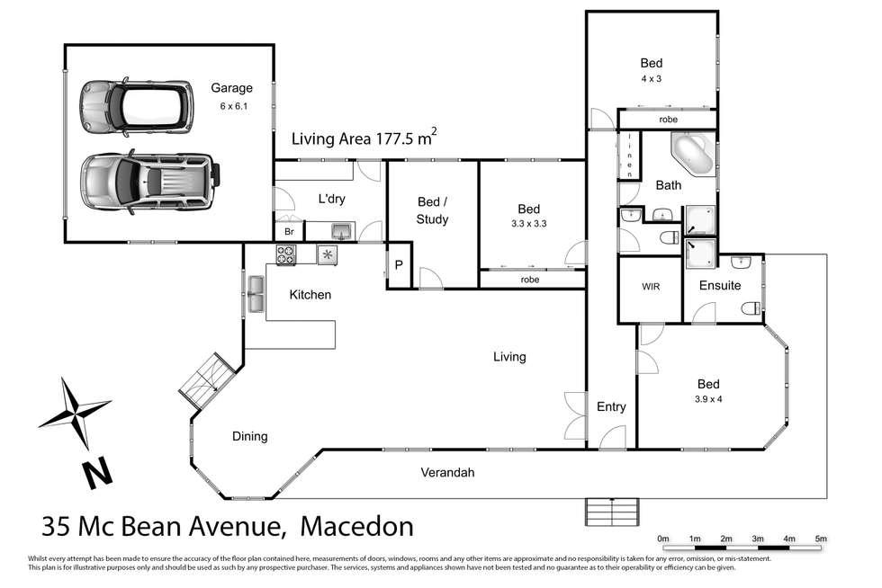 Floorplan of Homely house listing, 35 McBean Avenue, Macedon VIC 3440