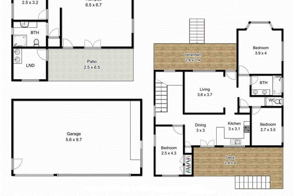 Floorplan of Homely house listing, 9 Yarradale Street, Newmarket QLD 4051