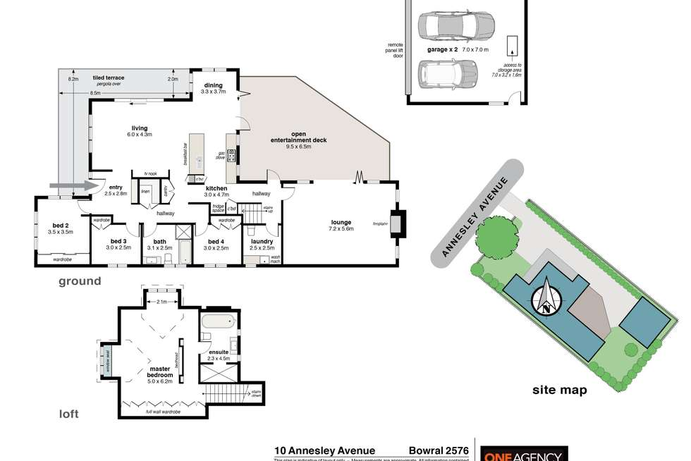 Floorplan of Homely house listing, 10 Annesley Avenue, Bowral NSW 2576