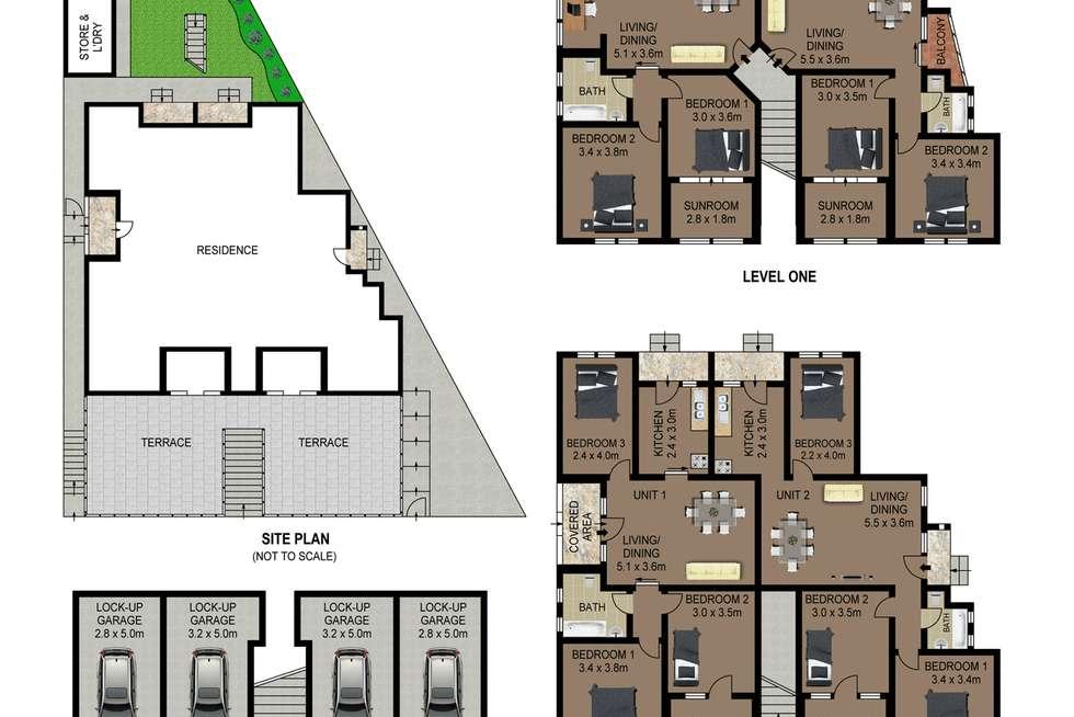Floorplan of Homely blockOfUnits listing, 1-4 96 Warners Avenue, Bondi Beach NSW 2026