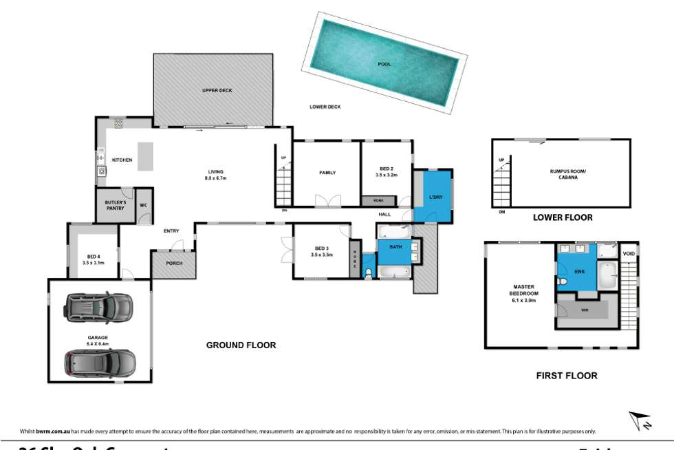 Floorplan of Homely house listing, 26 She Oak Crescent, Fairhaven VIC 3231