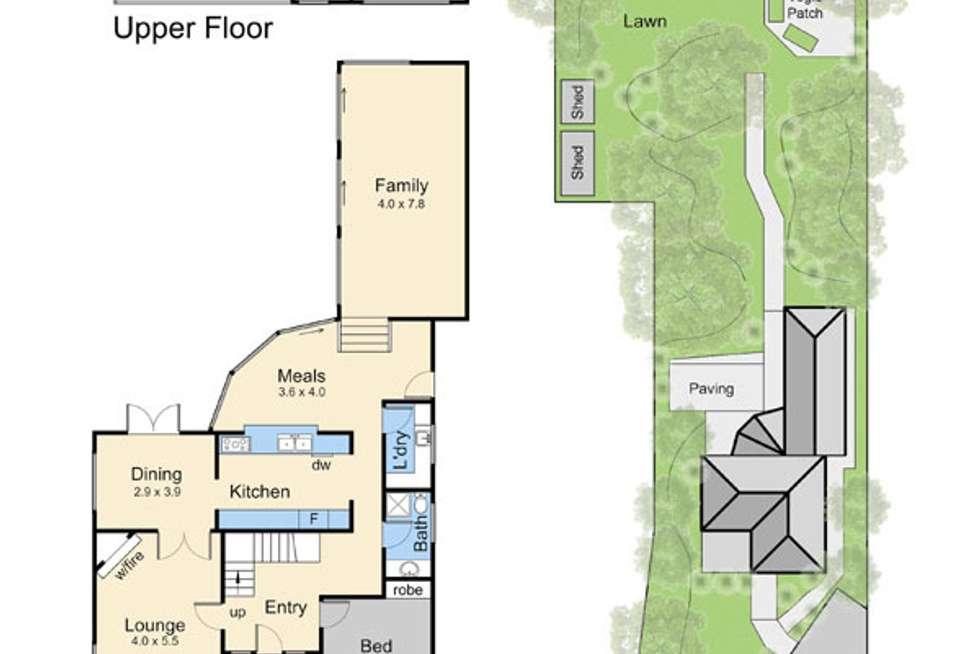 Floorplan of Homely house listing, 11 Baroona Street, Mornington VIC 3931